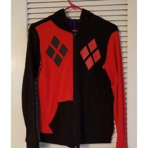 Harley quinn joker reversible jacket